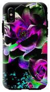 Bella Flora 8 IPhone X Tough Case