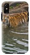 Bengal Tiger Wading Stream IPhone X Tough Case