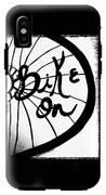 Bike On IPhone X Tough Case