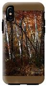 Birch Trees In The Fall IPhone X Tough Case