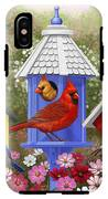 Bird Painting - Primary Colors IPhone X Tough Case