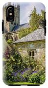 Bishops Palace Gardens - Wells England IPhone X Tough Case