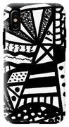 Black And White 19 IPhone X Tough Case