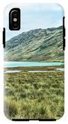 Black Lake  IPhone X Tough Case
