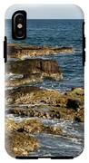 Black Rock Point And Sailboat IPhone X Tough Case