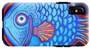 Blue And Red Fish IPhone X Tough Case