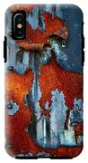 Blue And Rust IPhone X Tough Case