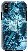 Blue Britain Bus Bill IPhone X Tough Case