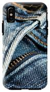 Blue Jeans IPhone X Tough Case