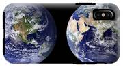 Blue Marble Composite Images Generated By Nasa IPhone X Tough Case
