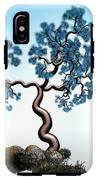 Blue Math  Tree 2 IPhone X Tough Case