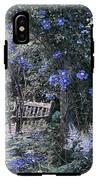 Blue Muted Garden Respite IPhone X Tough Case