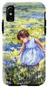 Blue IPhone X / XS Tough Case