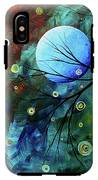 Blue Sapphire 1 By Madart IPhone X Tough Case