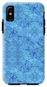 Blue Water Patchwork IPhone X Tough Case