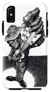 Blues Guitar IPhone X Tough Case