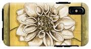 Bohemian Dahlia 1 IPhone X Tough Case