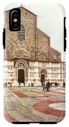 Bologna, Italy San Petronio Basilica Facade Crescentone IPhone X Tough Case