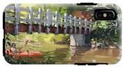 Bridge At Ellicott Creek Park IPhone X Tough Case