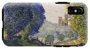 Bridlington Priory From Woldgate On The Hockney Trail IPhone X Tough Case