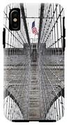 Brooklyn Bridge Flag IPhone X Tough Case