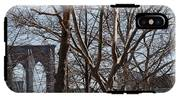 Brooklyn Bridge Thru The Trees IPhone X Tough Case