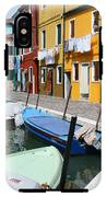Burano Corner With Laundry IPhone X Tough Case