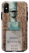 Bush Behind Piotr Wysocki Bust IPhone X Tough Case
