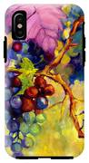 Butterfly And Grapes IPhone X Tough Case