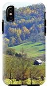 Cabin In The Mountains IPhone X Tough Case