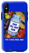 Can All You Can -- Ww2 IPhone X Tough Case