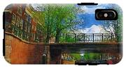 Canals Of Amsterdam IPhone X Tough Case