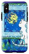 Capricorn Cat Zodiac IPhone X Tough Case