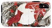 Cardinal Holiday I IPhone X Tough Case