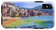 Cefalu Sicily Italy IPhone X Tough Case