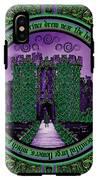 Celtic Sleeping Beauty Part IIi The Journey IPhone X Tough Case