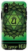 Celtic Tribal Heart Chakra IPhone X Tough Case
