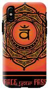 Celtic Tribal Sacral Chakra IPhone X Tough Case