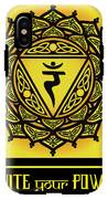 Celtic Tribal Solar Plexus Chakra IPhone X Tough Case