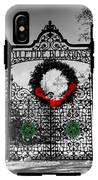 Celtic Yuletide Blessings IPhone X Tough Case