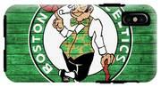Celtics Barn Door IPhone X Tough Case