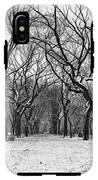 Central Park 1 IPhone X Tough Case