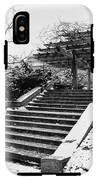 Central Park 4 IPhone X Tough Case