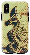 Charming Vintage Seahorse IPhone X Tough Case