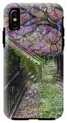 Cherry Blossom Walk IPhone X Tough Case