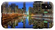 Chicago River East IPhone X Tough Case