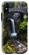 Christine Falls - Mount Rainer National Park IPhone X Tough Case