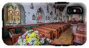 Christmas Church Flowers IPhone X Tough Case