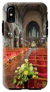 Church Flowers IPhone X Tough Case