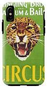 Circus Poster, 1940s IPhone X Tough Case